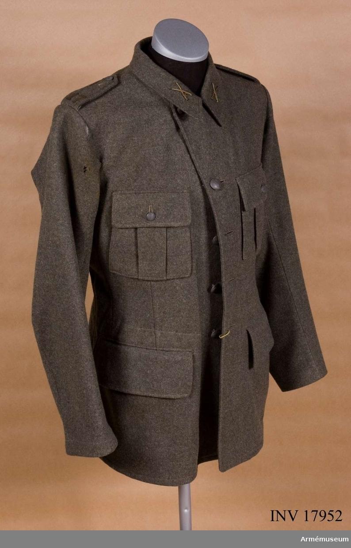 Grupp C I.  Ur uniform m/1939 för manskap vid Bohusläns regemente (se samhörande).