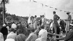 """Enligt fotografens journal nr 6 1930-1943: """"Simpromotionen i"""
