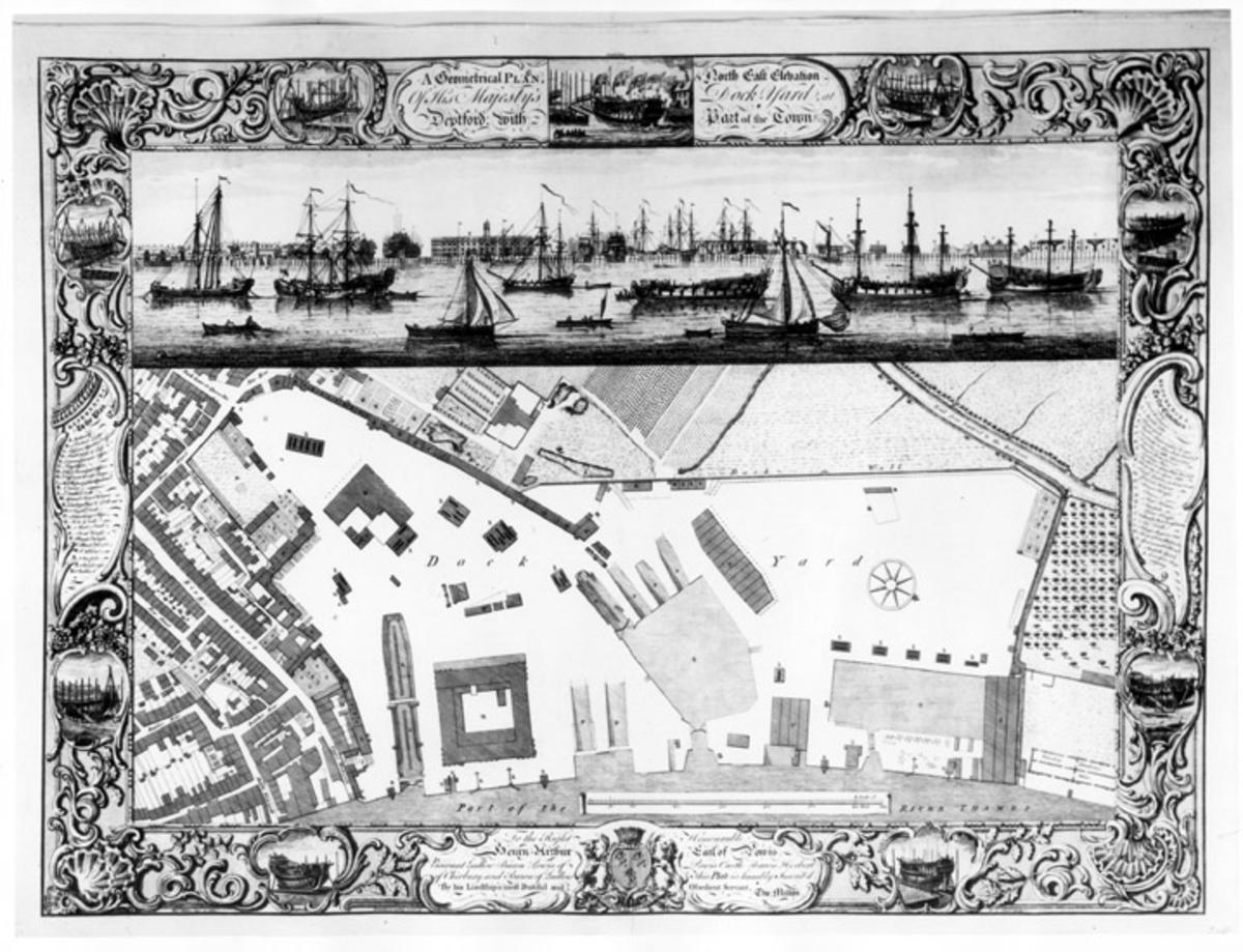 Copyright: Ned. Hist. Scheepvaart Fotograferat av: Museum Amsterdam