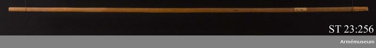 Vid stångsidan en enhörning (västinfluens) som håller en spira (symbol för general, befälshavare). I mittfältet en örn som håller en sabel i en av klorna vänd mot två drakar på tungorna. (Symbol för kampen mellan väst och öst.)