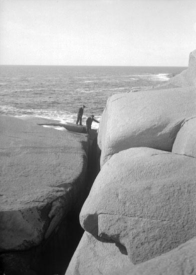 "Mars 1924. ""Dalens klyfta."""