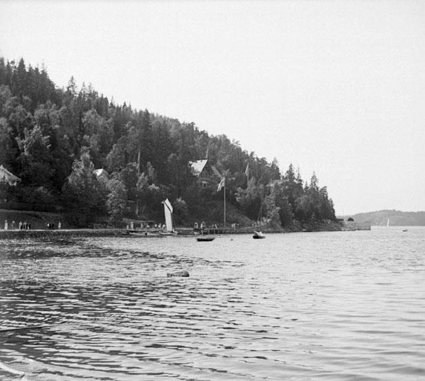 (Stereo karta XVI) Gustavsberg, 11 Augusti 1926.