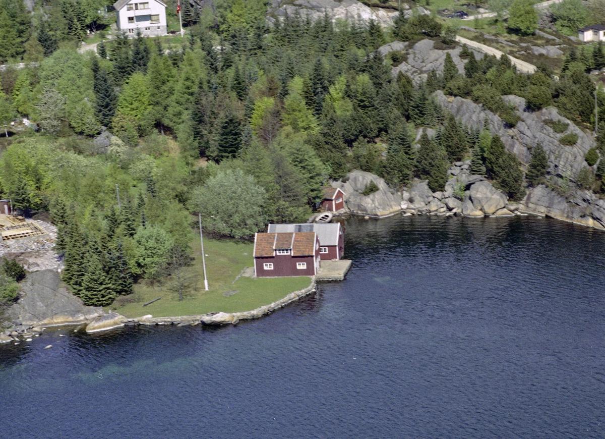 Gamle Eigerøyveien, Åsan