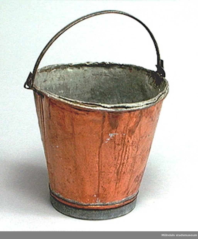 10 Liters kopparöverdragen zinkspann.