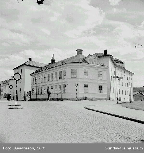 Landstingets Centrala verkstadsskola, f.d. Grönborgs bryggeri.