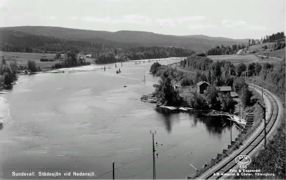 Stödesjön vid Nedansjö, Sundsvall.