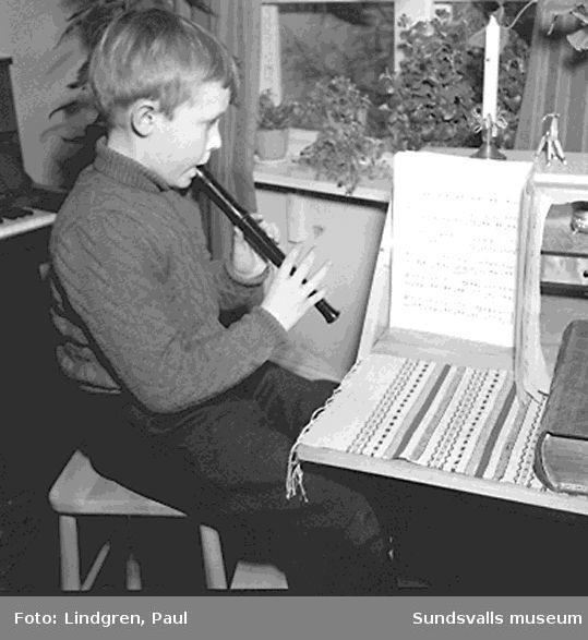 Musikaliskt underbarn i Jämtland.