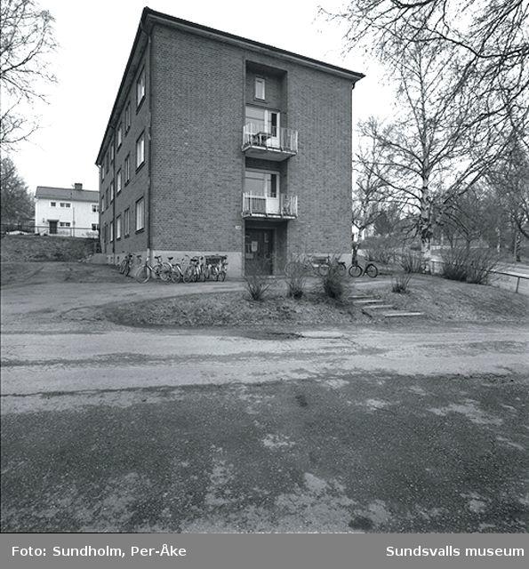 Inventering av 1940- och 50-talsområden. Oscarsgatan 34, 28-34.