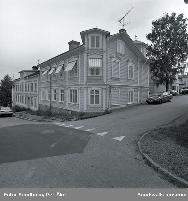 Inventering Stadsmon. Vallgatan 13.