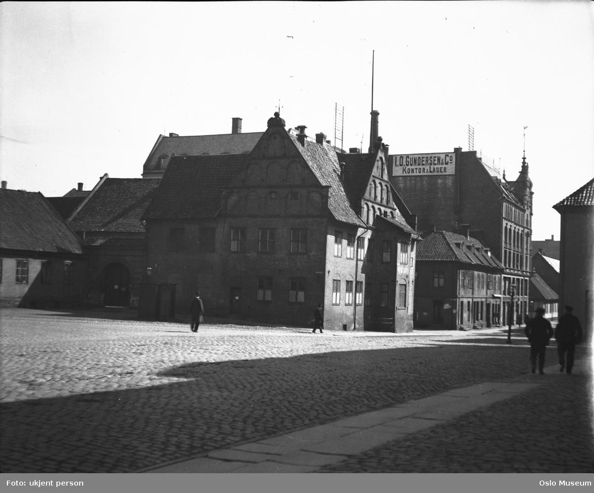 gateløp, bygårder, Garnisonssykehuset, mennesker
