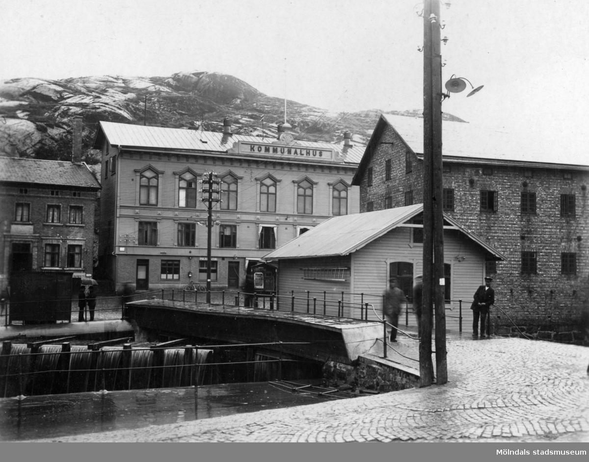 Fiskeflôten, Forsebron, Spruthuset och Gamla torget.