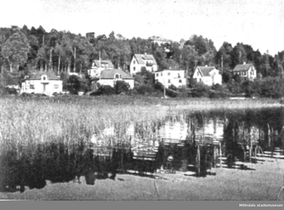 Villabebyggelse i Helenevik, Mölndal.