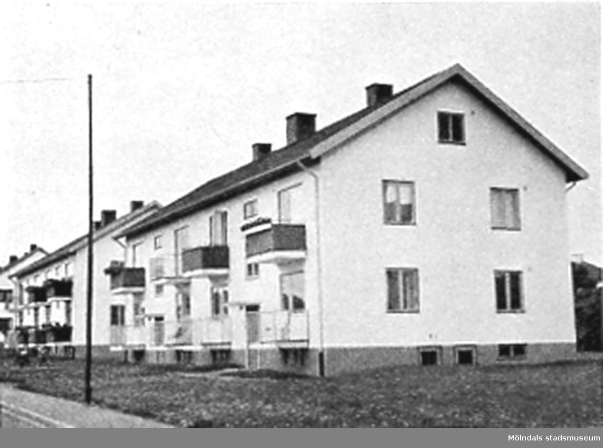 Hyreshus på Broslätt.
