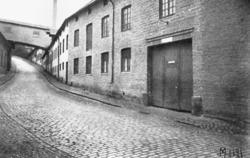 Soabs byggnader i Kråkan (Kvarnbygatan).