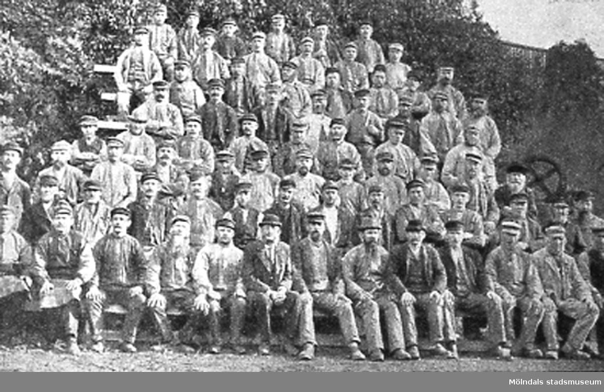 SOABs arbetare år 1895.