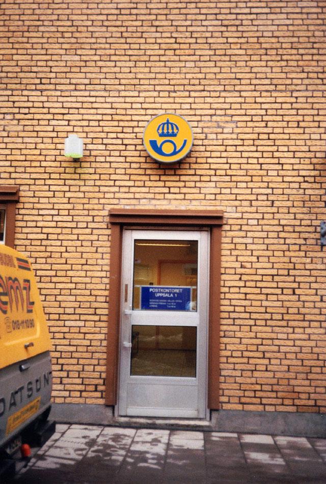 Postkontoret 751 01 Uppsala Vaksalagatan 10-12