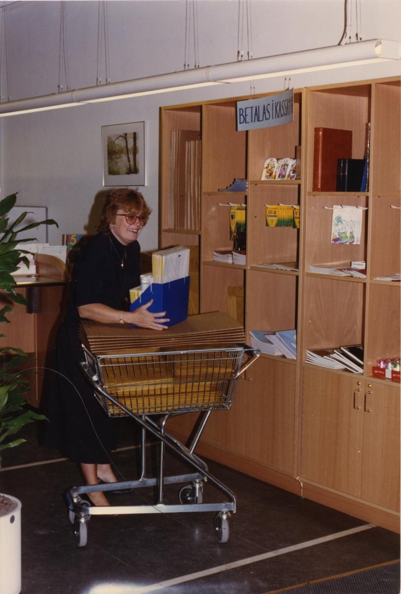 Postkontoret Malmö 4 år 1990.