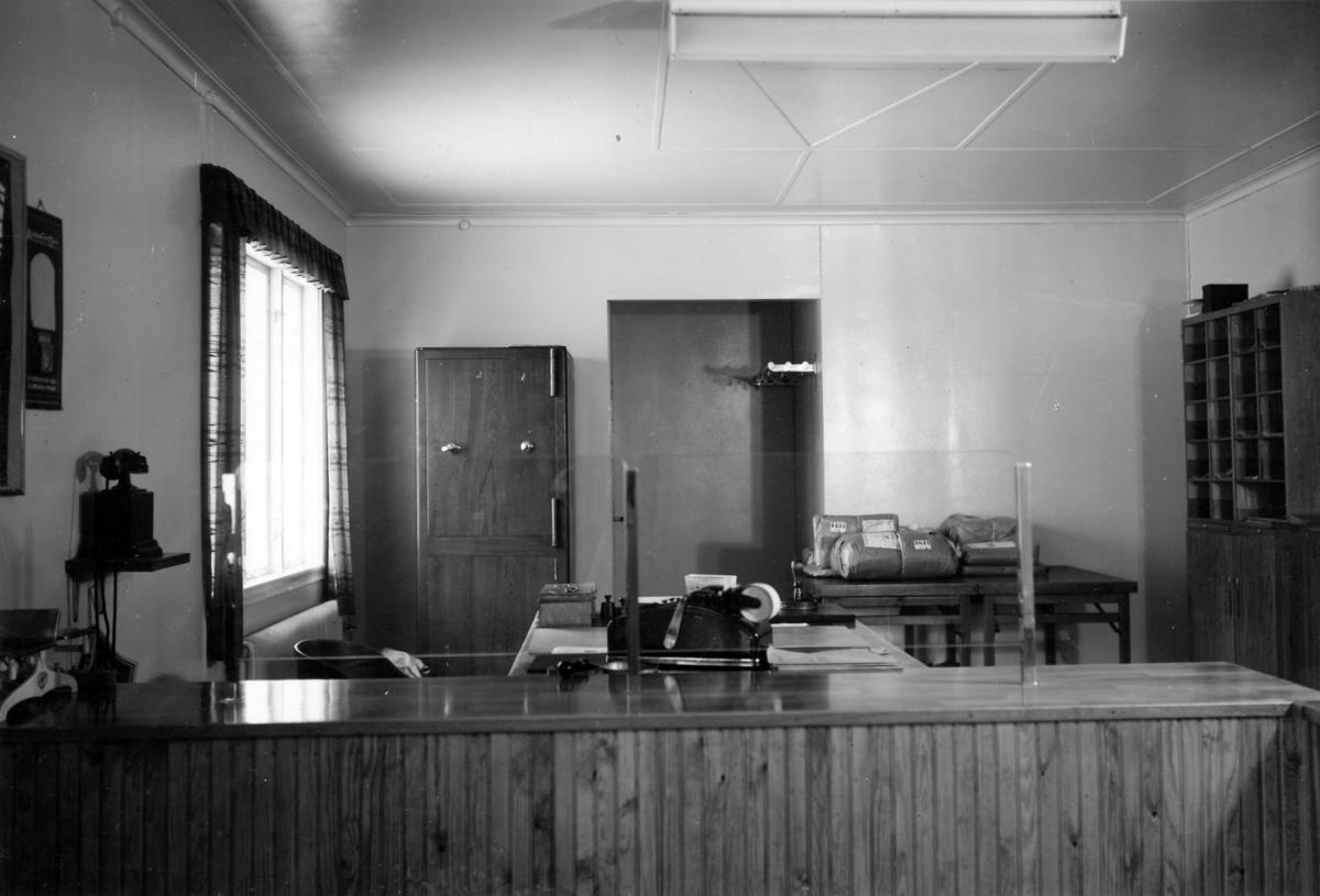 Poststationen Adolfsfors i Värmland, 1950.