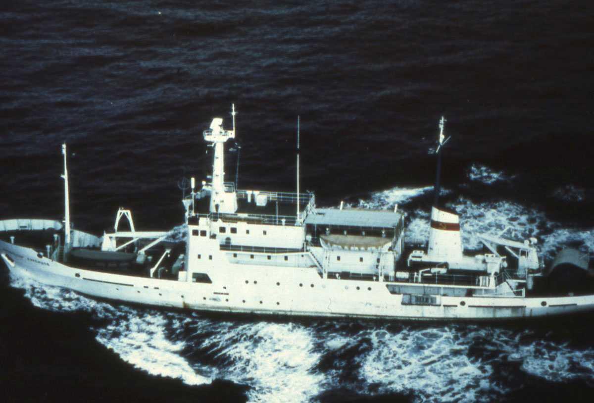 Russisk fartøy av Dmitri Ovstyn - klassen.