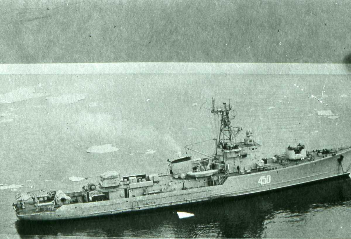 Russisk fartøy av T-58 - klassen med nr. 450.