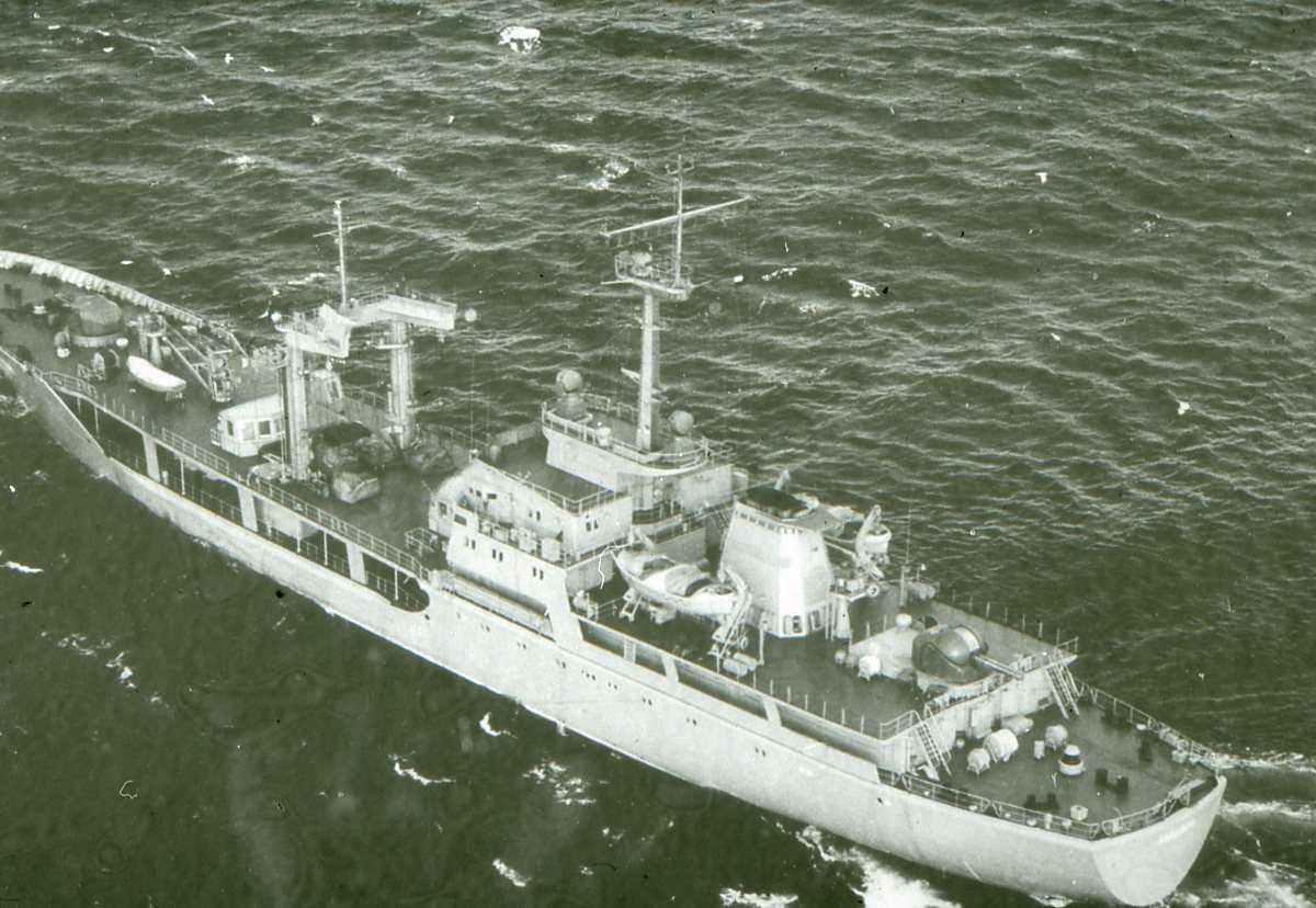 Russisk fartøy av Manych - klassen og heter Manych.