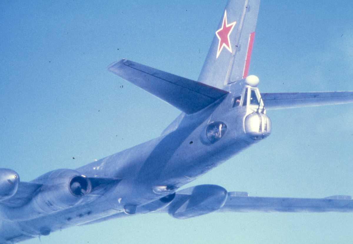 Russisk fly av typen Badger H.
