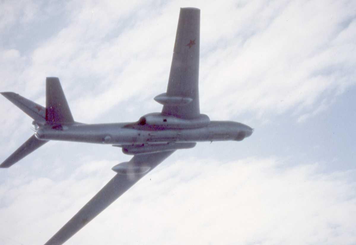 Russisk fly av typen Badger J.