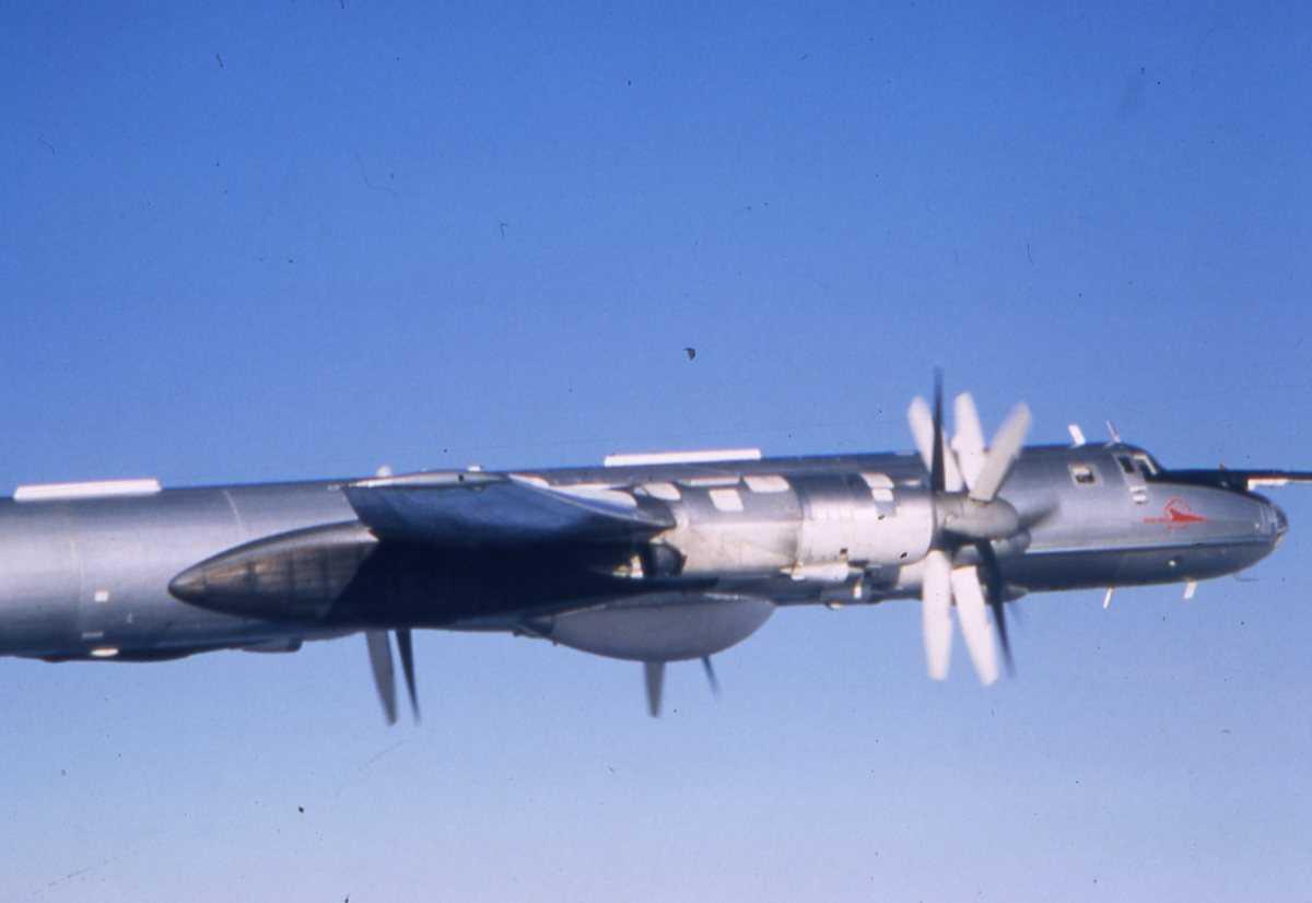 Russisk fly av typen Bear F Modifisert 3.