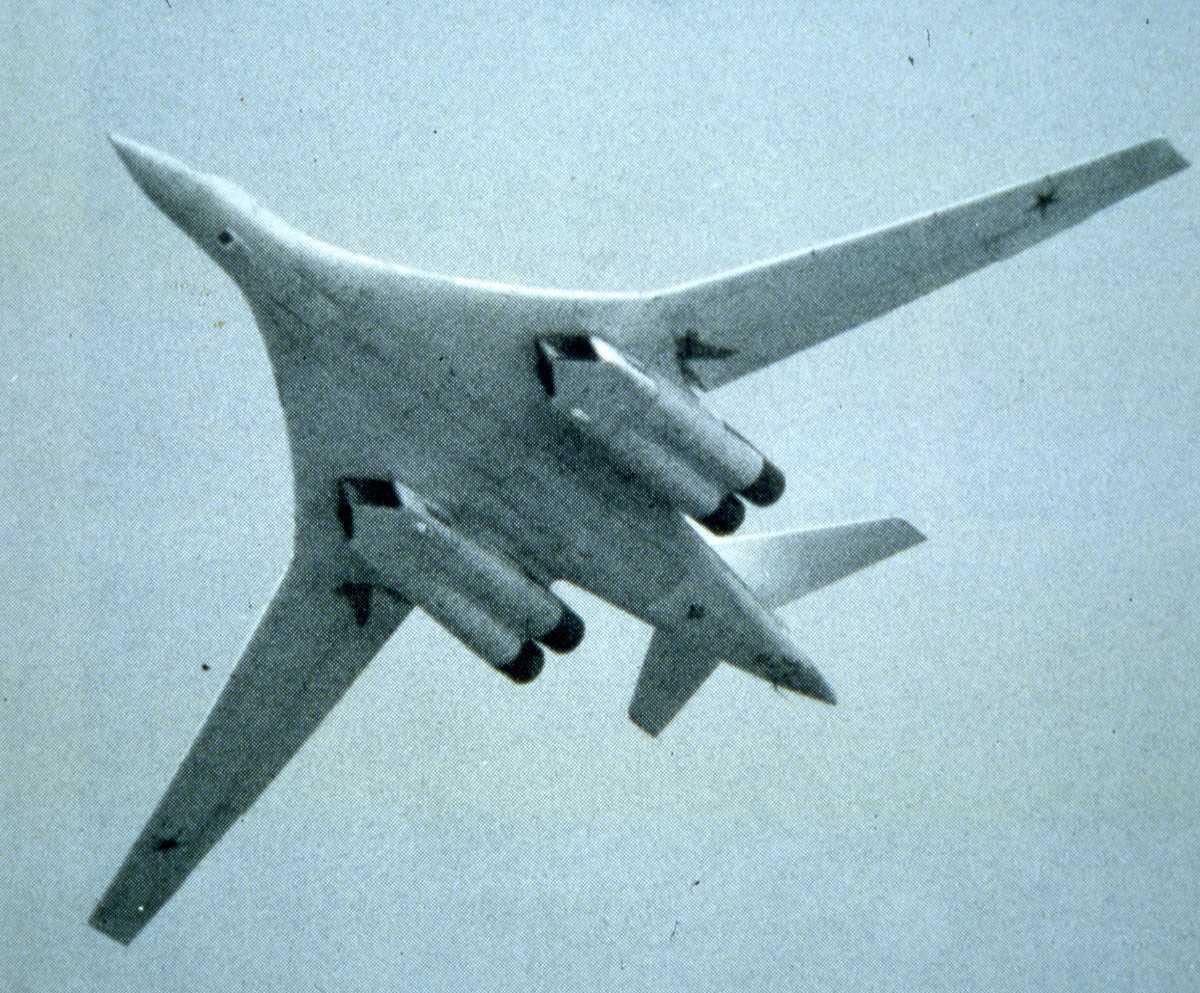 Russisk fly av typen Blackjack.