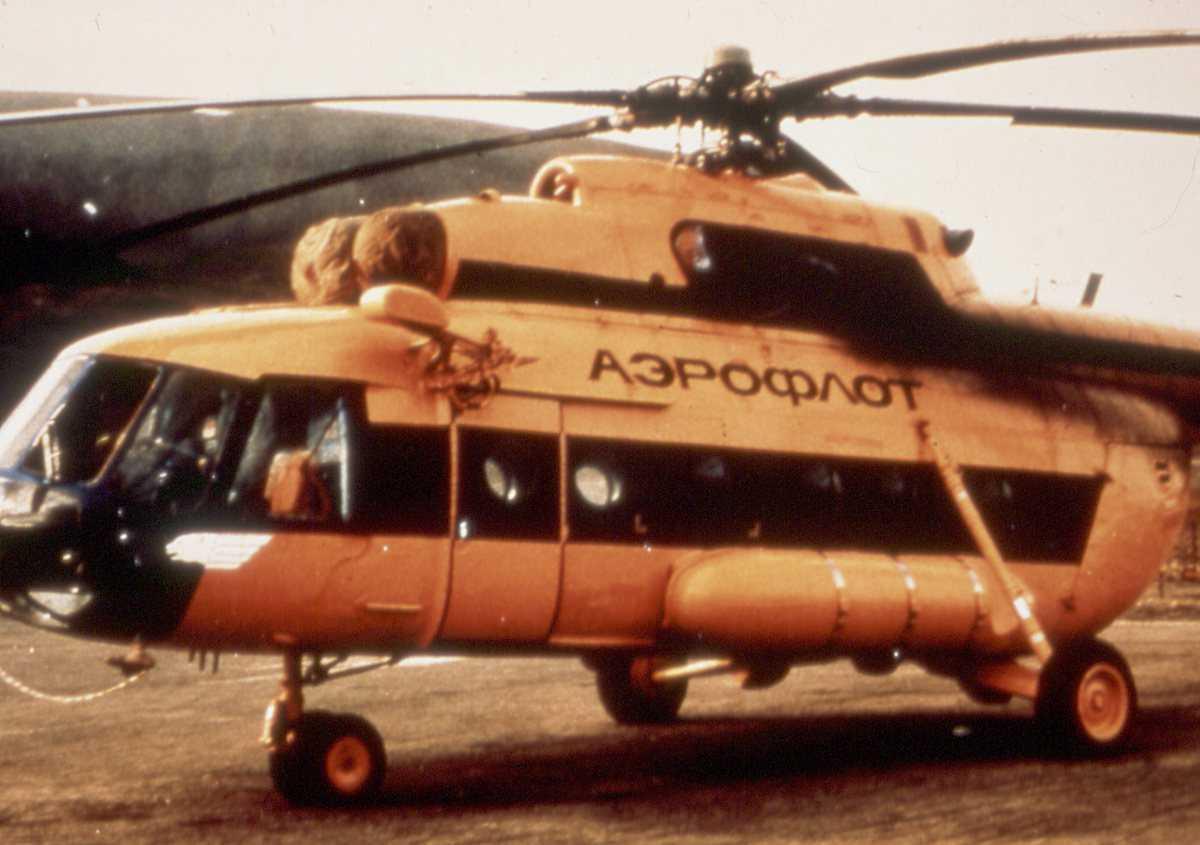 Russisk helikopter av typen Mi-17 Hip H.