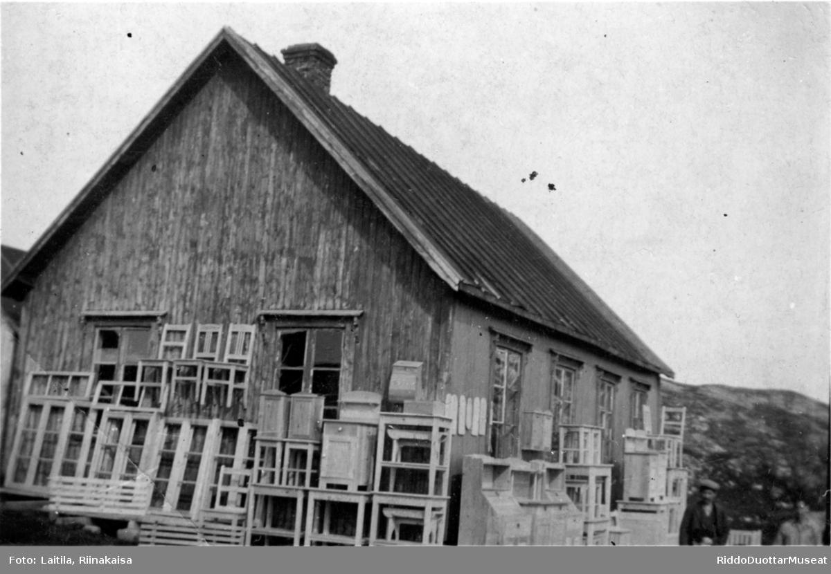 Hus i Olderfjord.