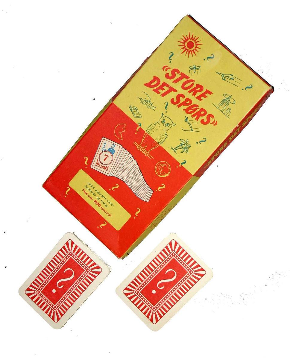 Kunnskapsleik/spel i form av kortspel - (Fasit/svarhefte manglar)