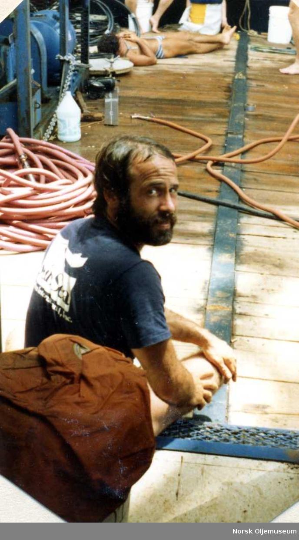 I juni 1980 dro guttene Per haral Hjemgaard, Terje, Rolf, Øyvind og Torgeir Berge til Mexicogulfen på jobb.