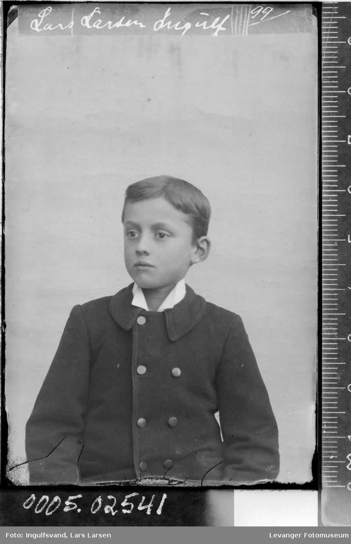 Portrett av gutt,
