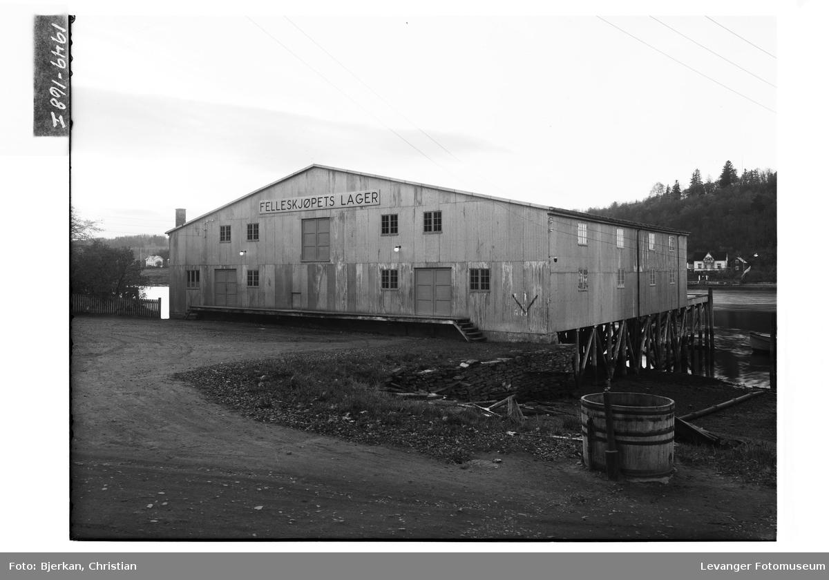 Felleskjøpets brygge i Levanger