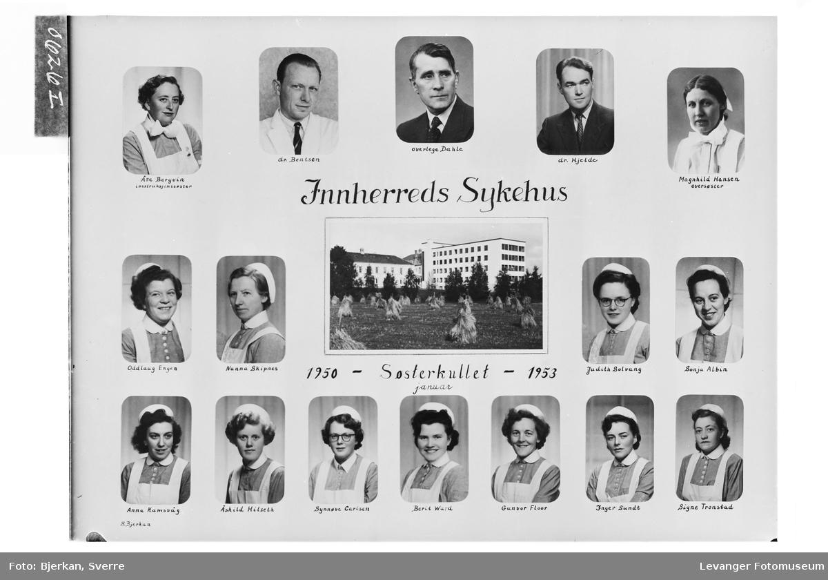 Innherreds Sykehus. Søsterkullet 1950-53.