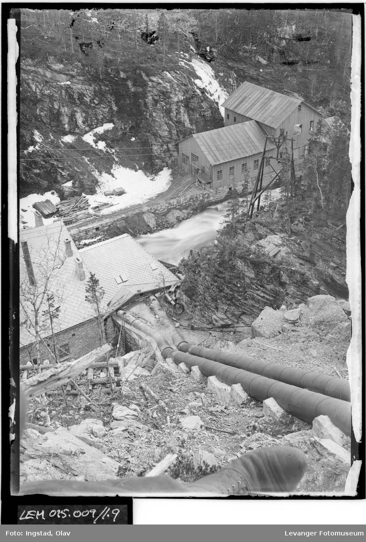 Rørgata til kraftstasjonen