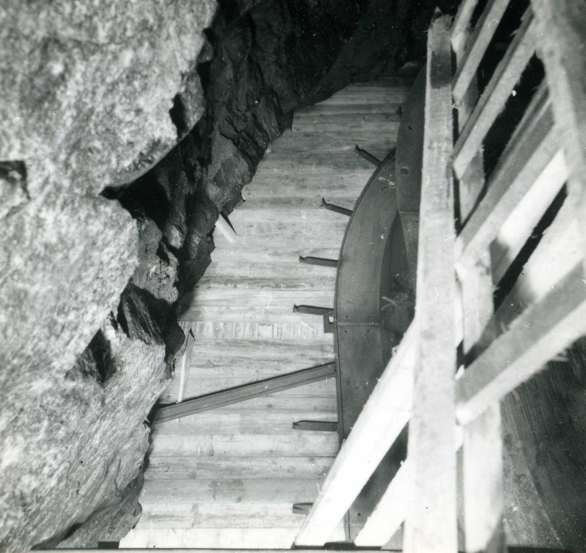 Tilløpstunnel frå Vesås. Konstruksjon i tunnel