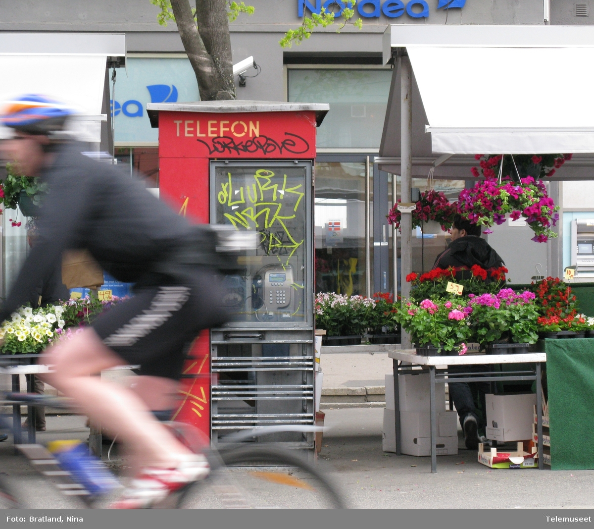 Telefonkiosk Majorstua Oslo