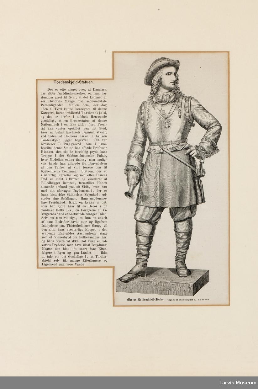 Tordenskjold-Statuen.