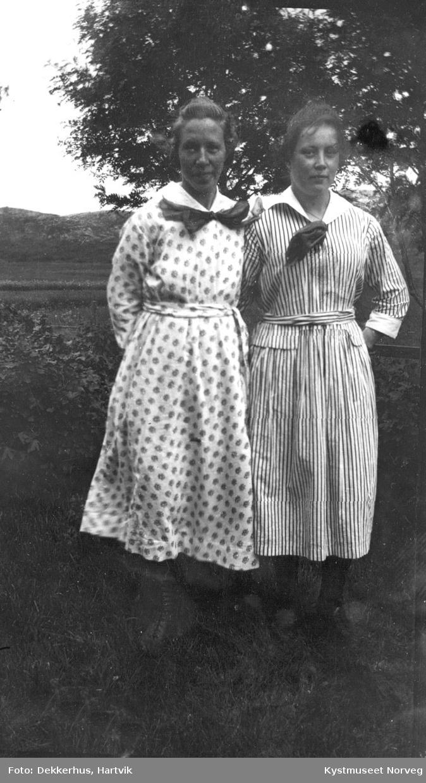 Agnes Dekkerhus og Borghild Breivik