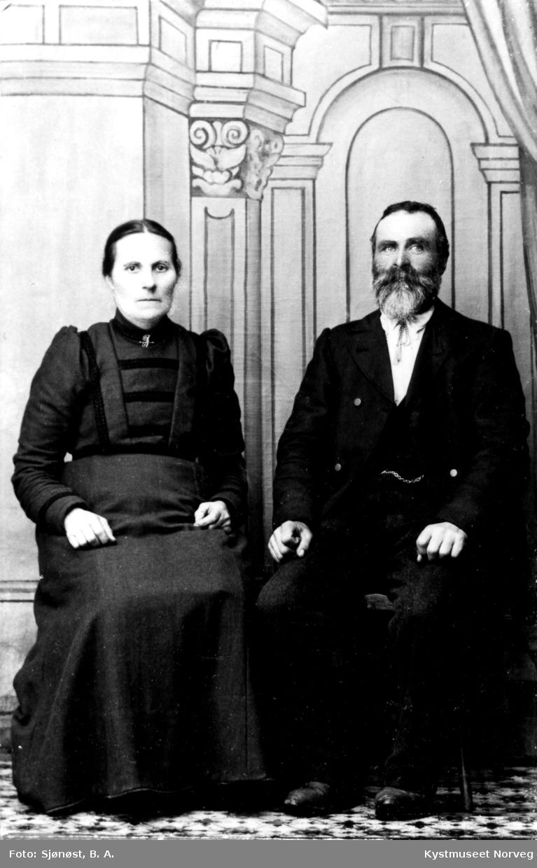 Elise og Andreas Myrmo