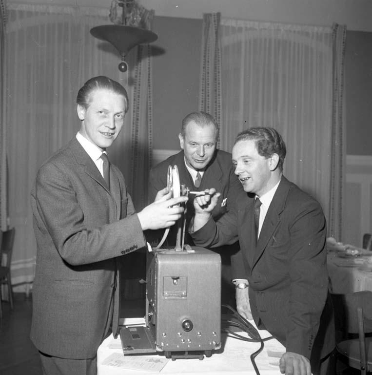 """Enligt notering: """"Reso träff Stadshotellet 18/2 1960""""."""