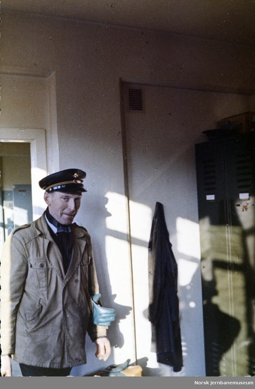 Stasjonsformann Adolf Sæland, Stavanger