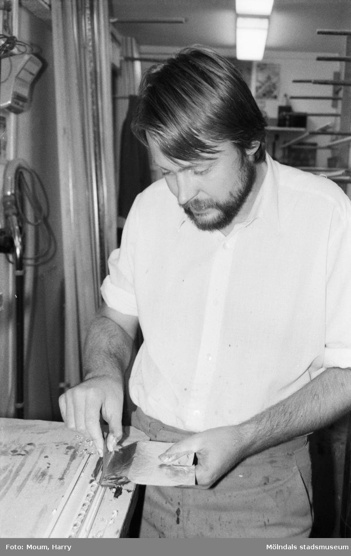 Fotografi från Kållereds Ramlist, år 1984.  För mer information om bilden se under tilläggsinformation.