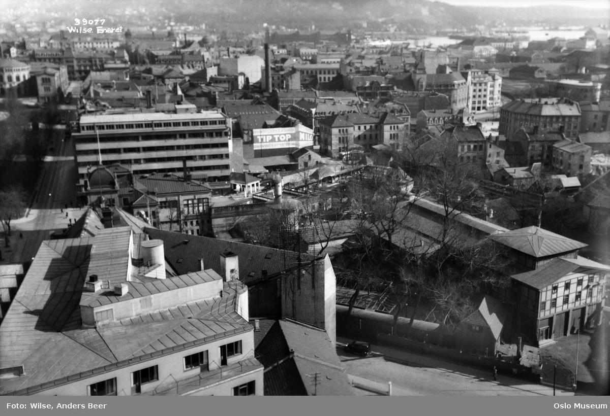 utsikt, Tivoli, bebyggelse, forretningsgårder