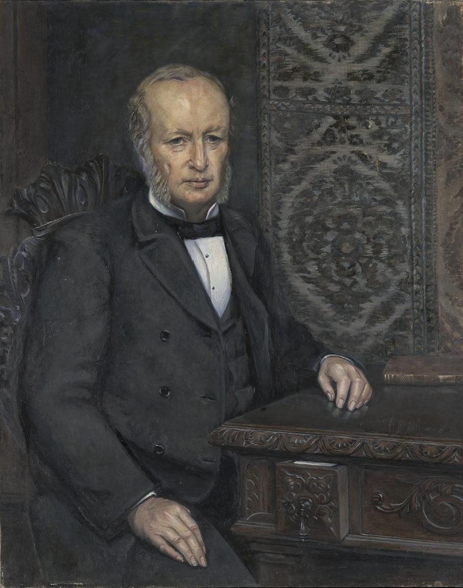 Portrett av Hartvig Marcus Lassen  Portrett  - Oslo Museum ... e7a68287ab7e6