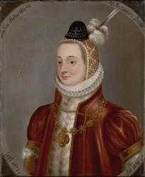 Portrett av Sophie av Mechlenburg [olje på lerret]