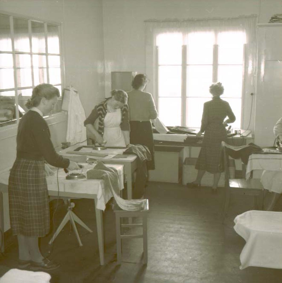 Interiør - Husmorskolen.Husmorskolen i Haugesund.