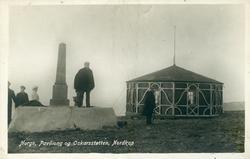 'Norge, Paviliong og Oskarsstøtten, Nordkap.'